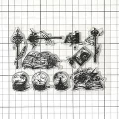 "Thumbnail of ""クリアスタンプ 魔法道具 シリコンスタンプ ヴィンテージ"""