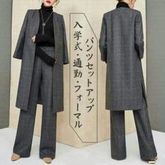 "Thumbnail of ""パンツセットアップ パンツスーツ レディース ガウチョパンツ春 人気がある"""