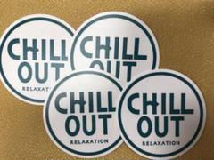 """Thumbnail of """"新品未使用 CHILL OUT チルアウト ステッカー 4枚 非売品"""""""
