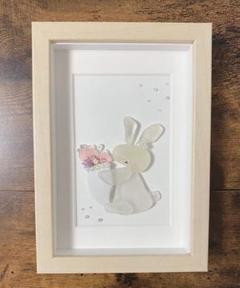 "Thumbnail of ""【Rabbit*flower】シーグラス うさぎ 花束"""