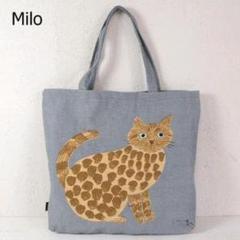 新品 松尾ミユキ Big Tote トートバッグ Cat Milo