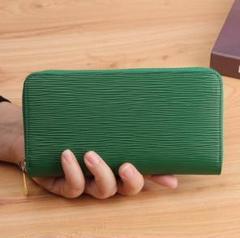 """Thumbnail of """"【再入荷しました♡】長財布 グリーン 緑色 レディース メンズ 高級感 金運UP"""""""