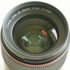 "Thumbnail of ""Canon EF35F1.4L Ⅱ USM"""