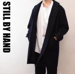 "Thumbnail of ""A6590 STILL BY HAND オーバーサイズ カバーオール 黒"""