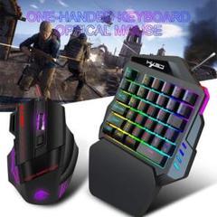 "Thumbnail of ""ゲーミング キーボード マウス USB接続 新品未使"""