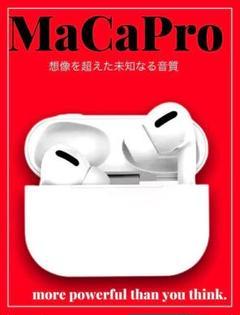 "Thumbnail of ""想像超えた未知なる音質 MaCa Pro 白 Bluetoothイヤホン"""
