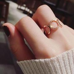 """Thumbnail of """"新品送料無料☆ジュエリーBOX付き☆大きなリングの指輪☆ゴールド☆ジルコニア"""""""