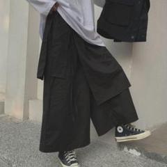 """Thumbnail of """"【再入荷★】モード系 袴パンツ ラップ カジュアル ファッション"""""""