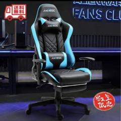 "Thumbnail of ""【新品未開封】デスクチェア ゲーミングチェア 椅子 ゲーム リクライニング"""