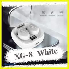 XG-8 Bluetooth ワイヤレスイヤホン ホワイト 白 おすすめ