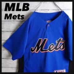 """Thumbnail of """"【超希少‼︎】Majestic⭐︎Mets MLB ロゴ刺繍 ゲームシャツ"""""""