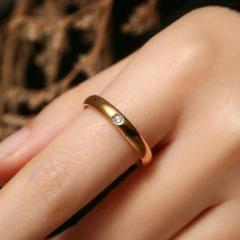 "Thumbnail of ""【希少品】ダイヤモンドの指輪18 Kファッション85"""