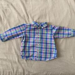 "Thumbnail of ""ラルフローレン  チェックシャツ 6M 70cm"""