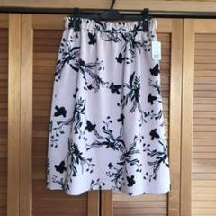 "Thumbnail of ""【新品タグ付き】18時迄タイムセール❣️23区♡花柄模様の膝丈スカート"""