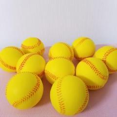 """Thumbnail of """"野球 練習用 ウレタン ボール 直径 約 7cm 夜間でも目立つ 黄色 30個"""""""