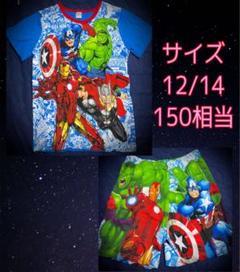 "Thumbnail of ""新品★Avengers/140/150/パジャマ/Tシャツ/ズボン/Marvel"""