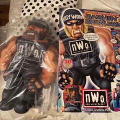 "Thumbnail of ""WWE WCW NWO   希少! ハルクホーガン ぬいぐるみ ドール アメトイ"""
