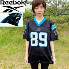 "Thumbnail of ""【NFL】Reebok パンサーズ 黒 ゲームシャツ アメフトチームロゴ"""