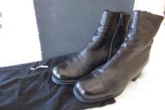 "Thumbnail of ""JISANDER 裏起毛 ラムレザー ショート ブーツ BLACK 37.5"""
