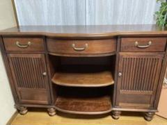 "Thumbnail of ""スタンレー社 飾り棚  アンティーク棚 stanley furniture"""