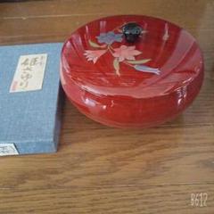 "Thumbnail of ""会津塗り 菓子器"""