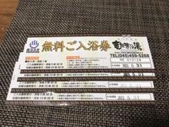 "Thumbnail of ""竜泉寺の湯 横浜スパビルズ 入浴券4枚"""