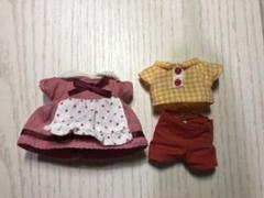 """Thumbnail of """"シルバニアファミリー 洋服 ショコラうさぎ お父さん お母さん 公式 中古"""""""