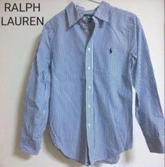 "Thumbnail of ""RALPH LAUREN ラルフローレン ストライプ 綿シャツ ブラウス 150"""