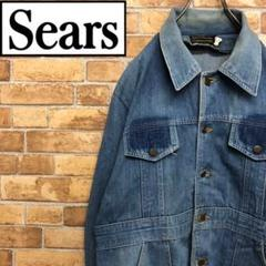 "Thumbnail of ""♡シアーズ♡ 70s Sears カバーオール デニムジャケット スリット"""