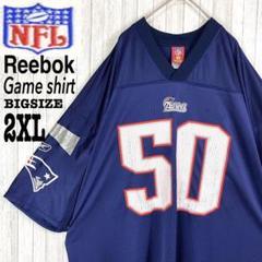 "Thumbnail of ""【NFL】リーボック ペイトリオッツ☆ゲームシャツ ビッグシルエット デカロゴ"""