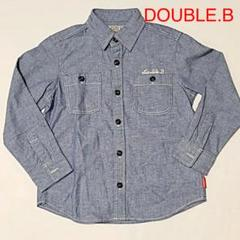 """Thumbnail of """"mikihouse DOUBLE.B ダブルビー シャツ 120    5967"""""""
