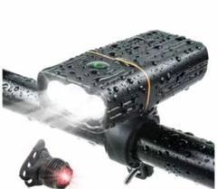 "Thumbnail of ""自転車 ライト LED IPX5防水 防振 最大約33時間可能 テールライト"""