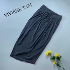 "Thumbnail of ""VIVIENNE TAM アシンメトリー デザインスカート ウエストゴム紐"""