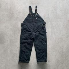 "Thumbnail of ""Carhartt overall Black duck オーバーオール50×30"""