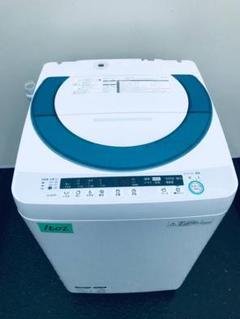 "Thumbnail of ""‼️7.0kg‼️1602番 SHARP✨全自動電気洗濯機✨ES-GE70P-G‼️"""