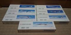 """Thumbnail of """"1/150 JAS MD-90 7機セット 日本エアシステム"""""""