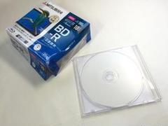 "Thumbnail of ""1枚あたり100円 三菱 正規品 ブルーレイディスク 録画用 BD-R 25GB"""