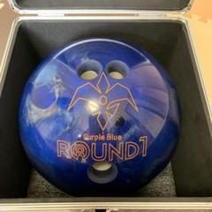 "Thumbnail of ""ROUND1 ラウンドワン ボーリングボール パープルブルー"""