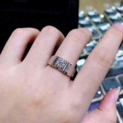 """Thumbnail of """"『品質保証』1.0 ctダイヤモンドリングPT 950プラチナ結婚指輪"""""""