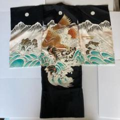 "Thumbnail of ""男児 着物 七五三 お宮参り 刺繍着物 男の子着物 金糸刺繍 銀糸刺繍"""