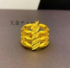 """Thumbnail of """"☆特壳☆24K金五葉草の指輪    レディースリング    ゴールド999T"""""""