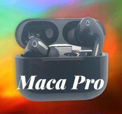 """Thumbnail of """"大人気 Maca pro ワイヤレス マイク付 イヤホン ブラック ●"""""""