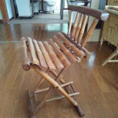 """Thumbnail of """"折り畳み式竹製品の椅子"""""""