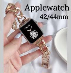"""Thumbnail of """"Applewatch アップルウォッチ チェーンベルト ピンクゴールド"""""""