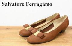 "Thumbnail of ""A6549 高級 Salvatore Ferragamo ガンチーニ パンプス"""