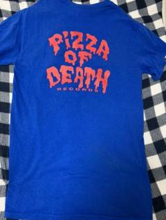 """Thumbnail of """"PIZZA OF DEATH Tシャツ MEANING 青 値下げ"""""""
