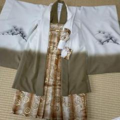 "Thumbnail of ""CHOMO様⭐(271)七五三5歳男の子羽織袴ほぼフルセット カーキ 個性的"""