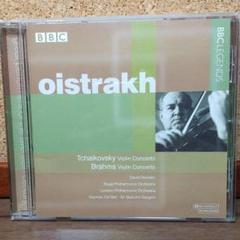"Thumbnail of ""チャイコフスキー&ブラームス:ヴァイオリン協奏曲  オイストラフ"""