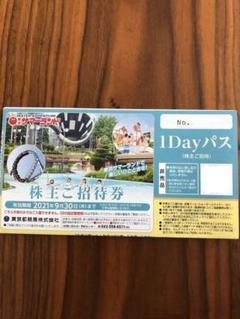 "Thumbnail of ""サマーランド 株主ご招待券 株主優待券 1Dayパス"""