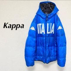 """Thumbnail of """"Kappa カッパ ダウンジャケット ビッグロゴ Lサイズ ブルー イタリア"""""""